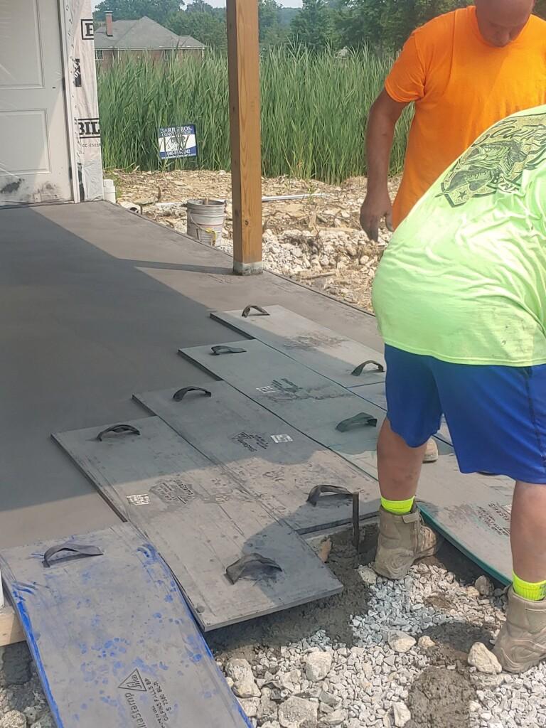 ph stamping concrete