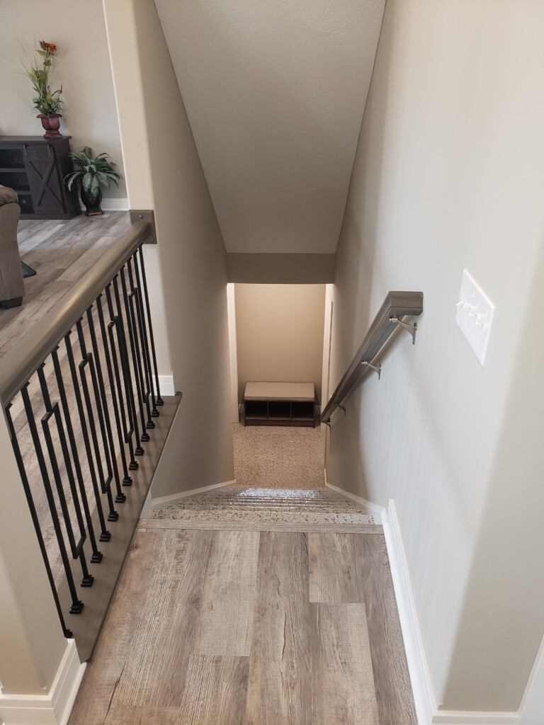 46 Stairs to Basement